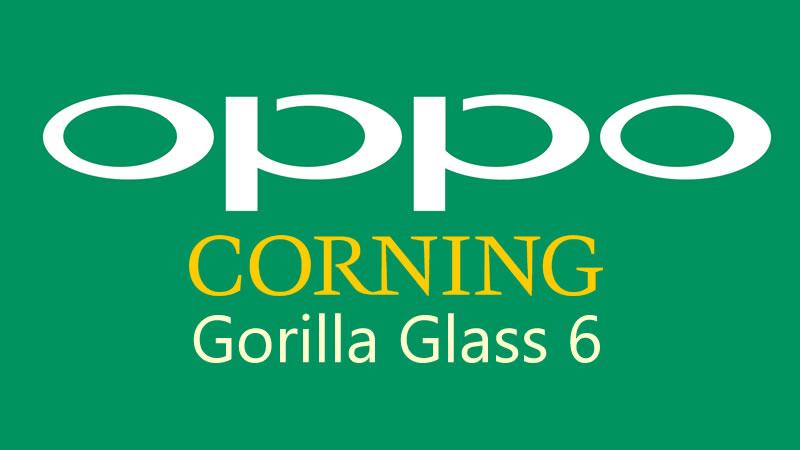 Corning y Oppo se unen para lanzar el primer móvil con Gorilla Glass 6