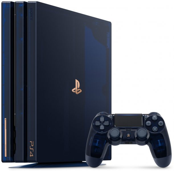 PlayStation 4 Pro transparente