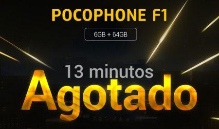 PocoPhone F1 agotado