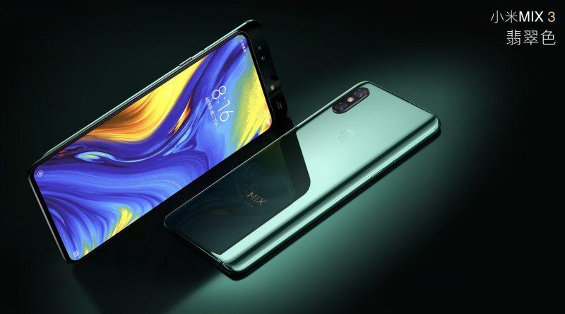 El Xiaomi Mi Mix 3 con su cámara de fotos deslizable luciendo en todo su esplendor
