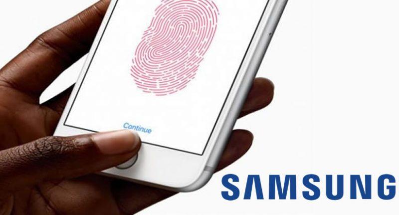 Lector de huellas a toda pantalla de Samsung