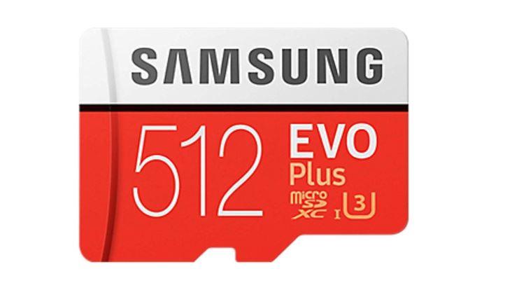 Samsung Microsd de 512 GB