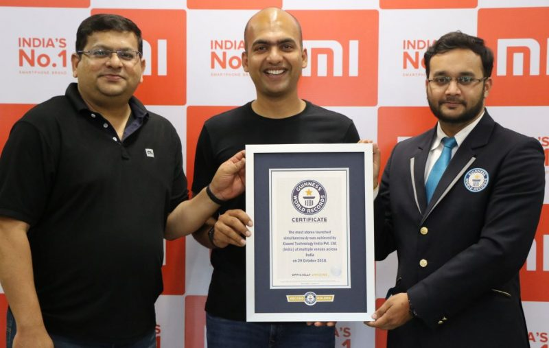 Record Guinness de Xiaomi