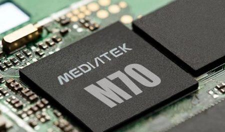 Mediatek M70 con 5G