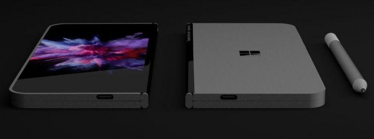 Smartphone plegable Microsoft Andromeda