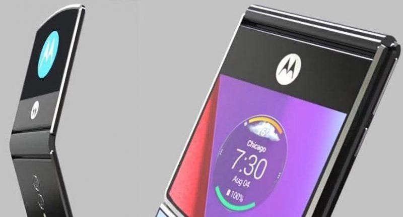Foto del Motorola Razr 2019 plegable