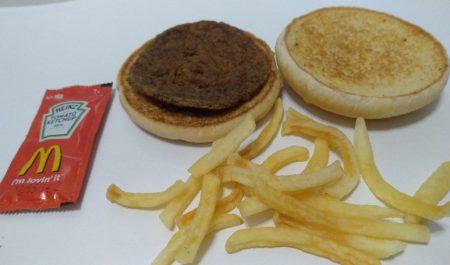 Hamburguesa McDonalds eterna
