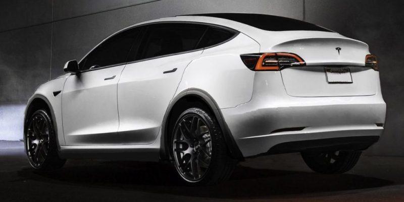 Posible imagen del Tesla Model Y