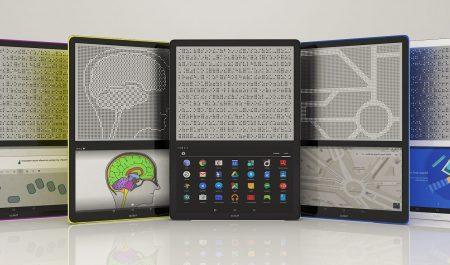 Blitab tableta para leer en braille