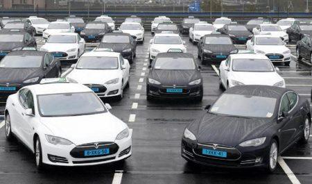 El Taxi de Tesla