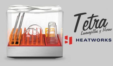 Lavavajillas Tetra de HeatWorks