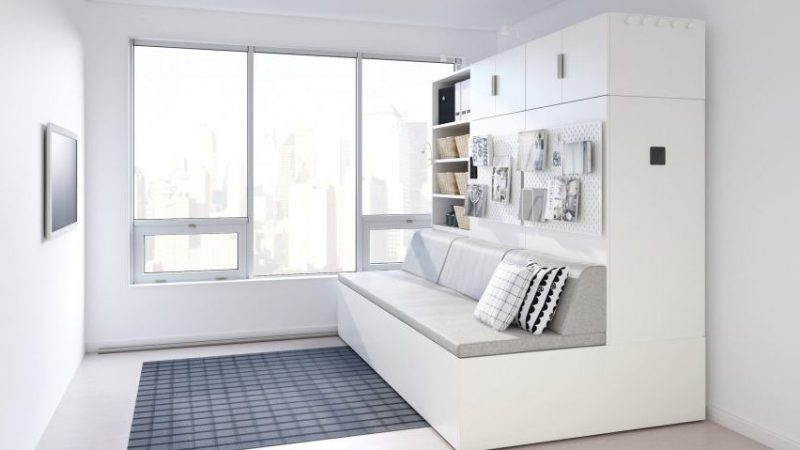 apoyo Salvación Necesito  Ikea comercializará Rognan un mueble robotizado: salón, armario y  dormitorio ocuparán 3 metros