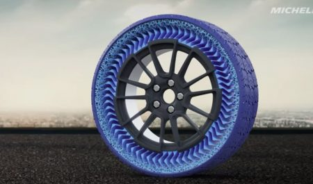 Neumático sin aire Uptis de Michelin