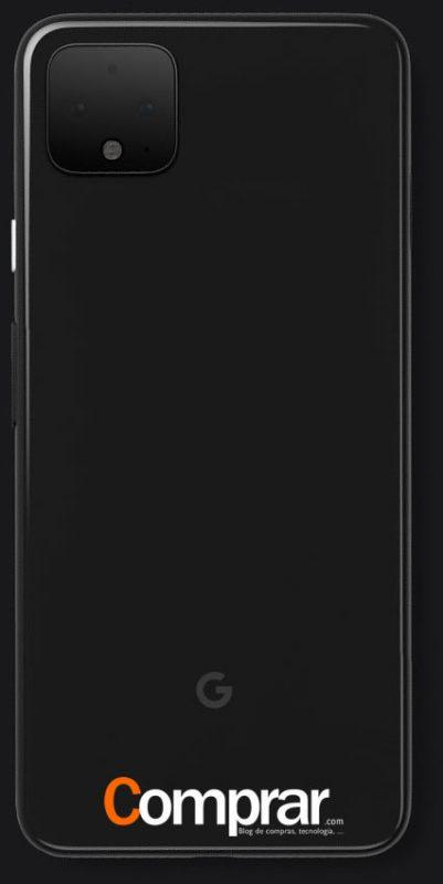 Render del Google Pixel 4