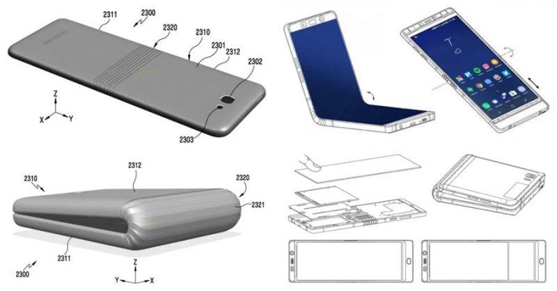 Samsung Galaxy Plegable en forma de concha