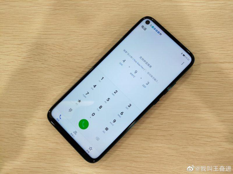 Delantera del Huawei Mate 30 Lite