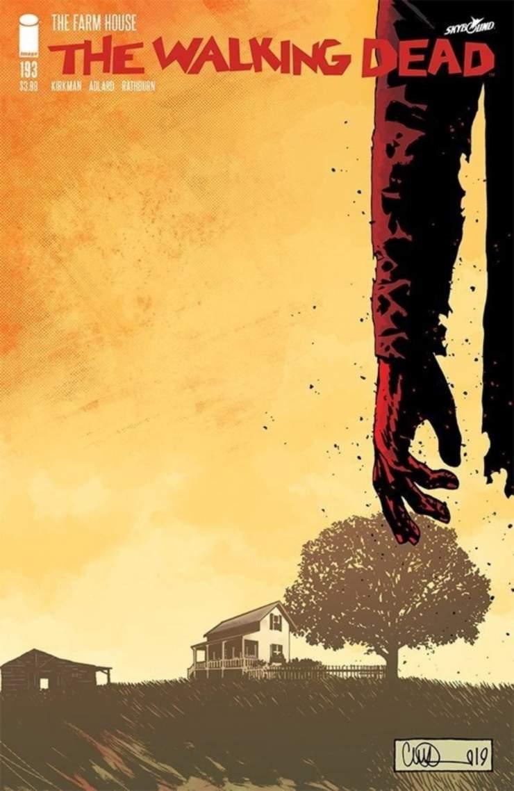 The Walking Dead portada del último número 193