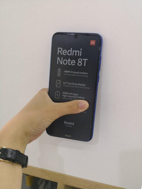 Frontal del Redmi Note 8T