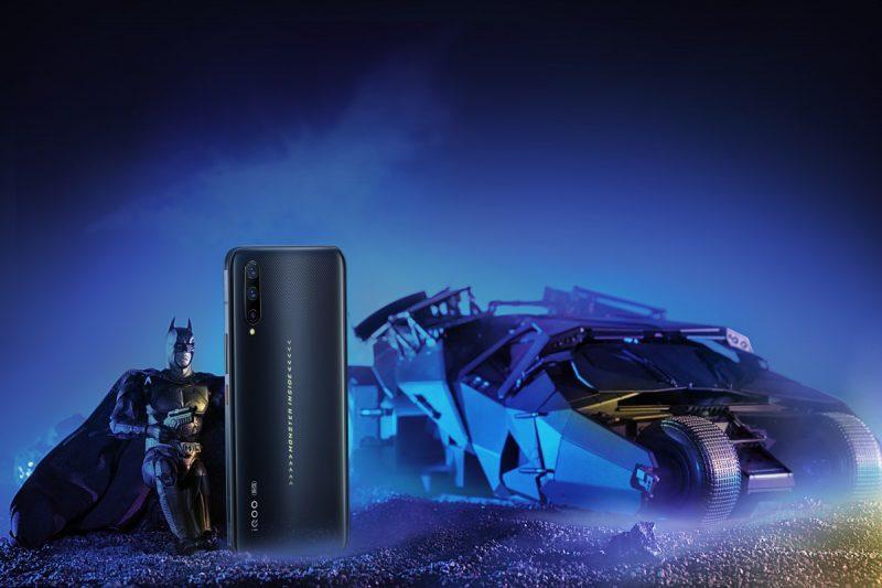 Batimovil del Vivo iQOO Pro 5G Batman Limited Edition