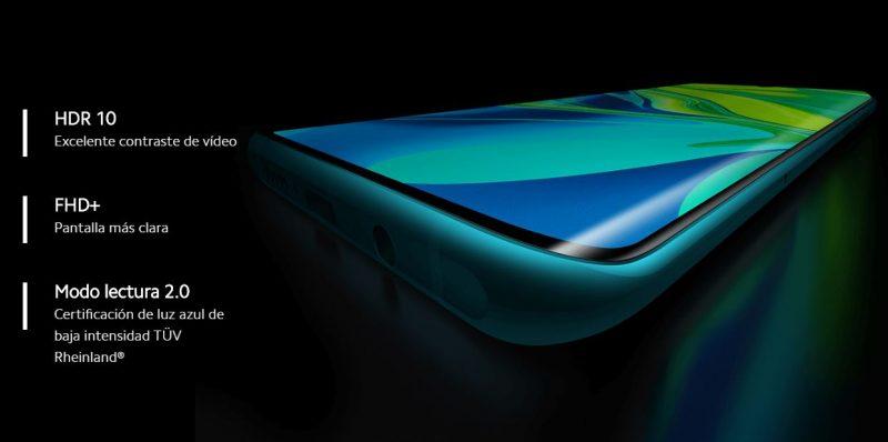Xiaomi Mi Note 10 frontal