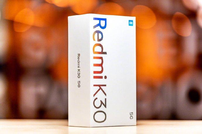 Caja del Redmi K30 5G
