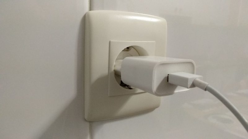 Enchufe en la pared