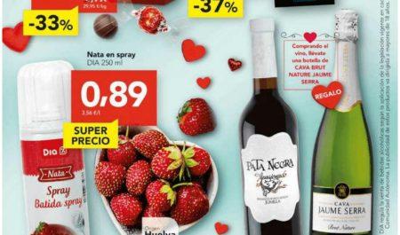 San Valentín en Supermercados Día