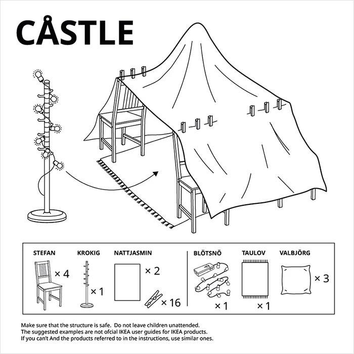 Cabaña de Ikea