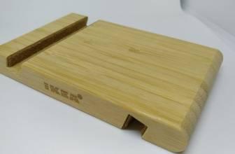 La base de madera para móviles de Ikea es de lo mejor