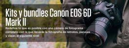 Cámara Canon EOS 6d Mark II