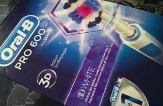 Oral B Pro 600 3DWhite, review y opinión de este gran cepillo de dientes
