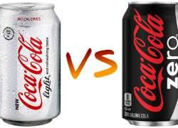 Diferencias entre Coca-Cola Zero y Coca-Cola Light