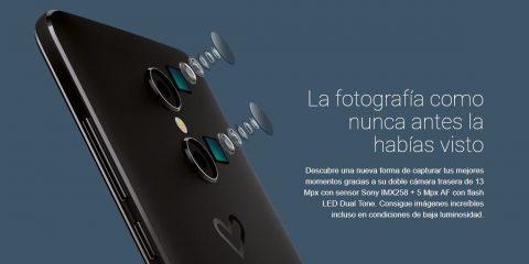 Doble cámara del Energy Phone 3