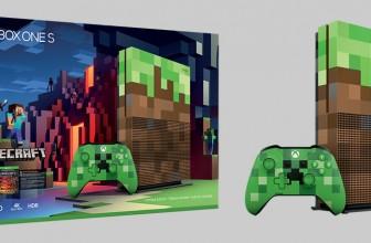 Xbox One S Minecraft, Microsoft lanza una edición especial de su consola