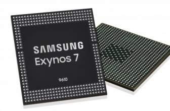 Samsung presenta el Exynos 9610