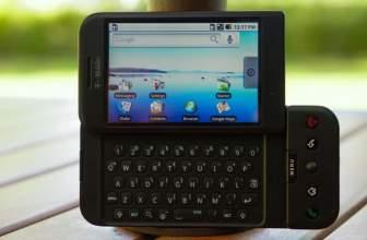 ¿Cual fue el primer teléfono con Android?