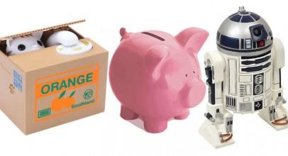 Huchas originales para guardar los pequeños ahorros