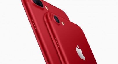El nuevo iPhone 7 rojo