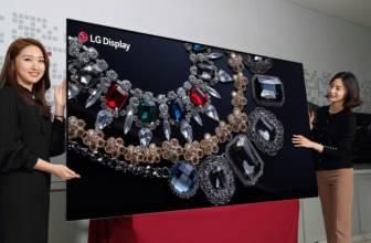 LG presenta su nuevo televisor OLED de 88 pulgadas y 8K