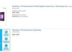 ¿Son legales las licencias que se venden de Windows 10 por menos 10 euros?