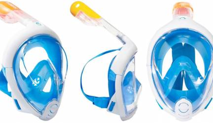 Máscara de snorkel Easybreath de Decathlon, review y opinión