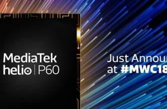 MediaTek lanza oficialmente el procesador Helio P60