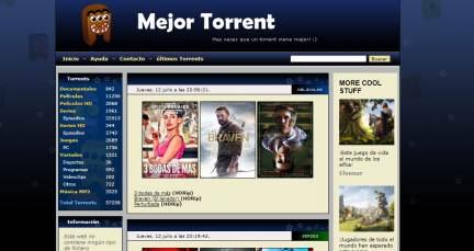 MejorTorrent es cerrada por la policía y vuelve a abrir en MejorTorrent1.com