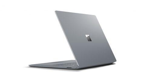Microsoft Surface Laptop trasera