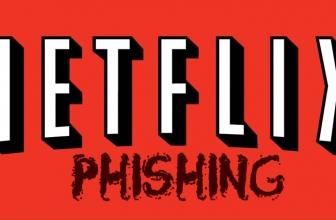 Ataque de phishing a los usuarios de Netflix