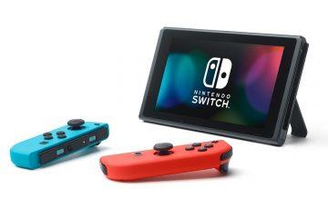 Nintendo Switch desmontada