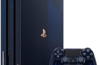 Sony lanza una PlayStation 4 Pro translúcida con la que celebra los 500 millones de PS vendidas
