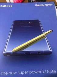 Ya tenemos la primera foto oficial del Samsung Galaxy Note 9 y su precio