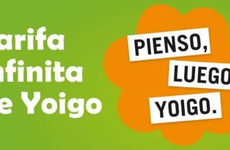 Yoigo lanza la primera tarifa infinita de datos móviles