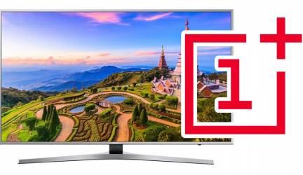 OnePlus sacará al mercado su propio televisor